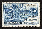 Expo 1931 stamp